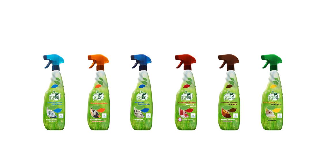 productos ecológicos de limpieza para el hogar