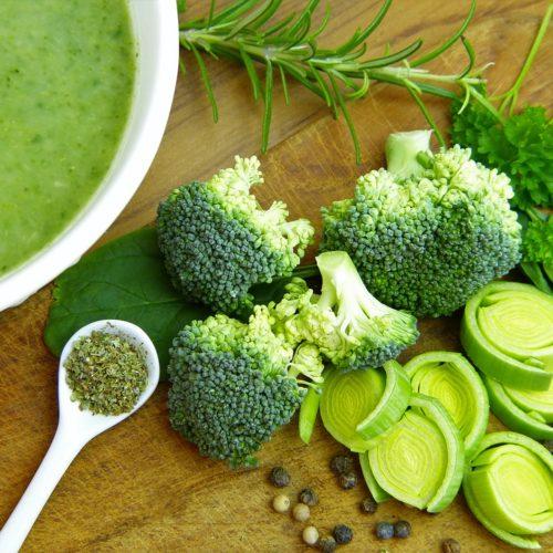 desinfectar las verduras