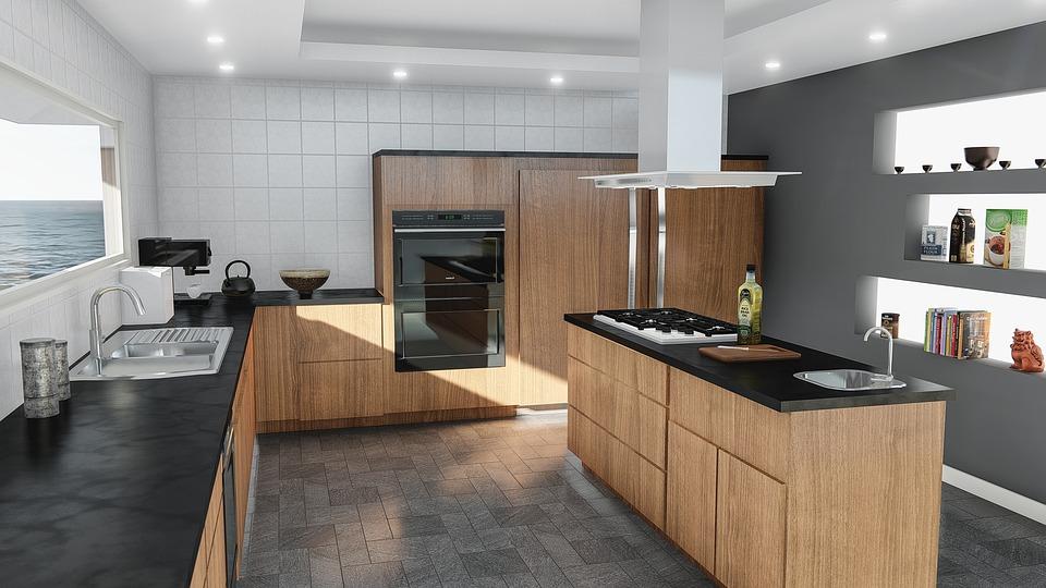 Cómo desinfectar la encimera de la cocina